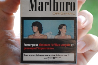 Smoking may reduce blood flow and causes impotence. Well we do not want that now, do we? Maybe we should give it to teenagers, so that they stop making so many babies.