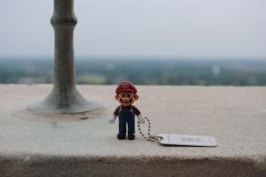 Mario on the Louisiana State Capital